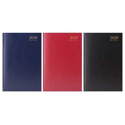 2019 A5 Week to View Appointment Diary Hard back Casebound WTV Diary