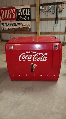 Early Antique Westinghouse Coca Cola Cooler