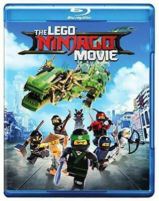 The LEGO NINJAGO Movie (Blu-ray Disc, 2017, 2-Disc Set) NEW