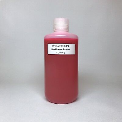 Epson Printhead Cleaning Solution - High Strength Pink Piezo Flush [1000ml.]