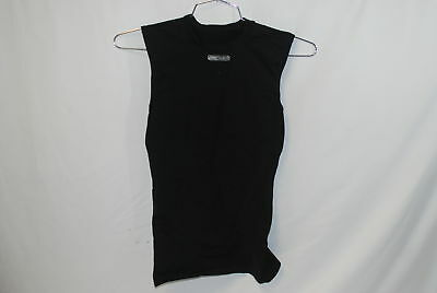 EC3D Womens Compression Top Sleeveless Size 2 (MED) Black Cycling Running Tri