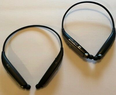 Authentic  LG TONE ULTRA+ HBS-820S Wireless In-Ear Behind-the-Neck S. Refurb