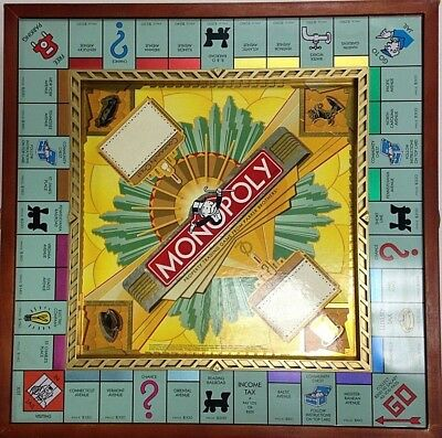 Monopoly Deluxe 70th Anniversary Edition Wooden SetOASIS
