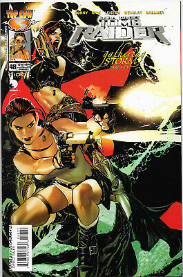 Tomb Raider The Series #48 Top Cow Comics Adam Hughes Cover NM