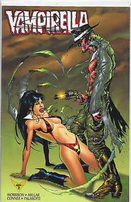 Vampirella Monthly #2 Dynamic Forces Signed By Jae Lee NM