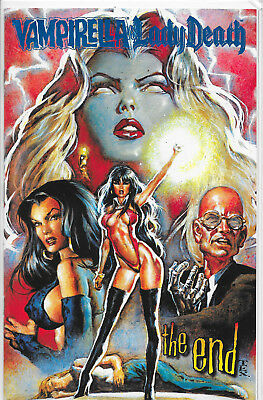 Vampirella Vs. Lady Death The End Royal Blue Edition Limited to 100 Copies NM