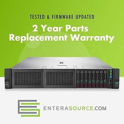 HP PROLIANT DL380 Gen10 Server 2X Silver 4108 8C 192Gb 8X