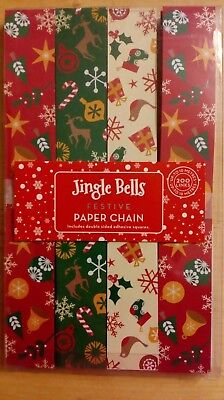 Christmas Paper Chain 200 Links That Make Approximately 10 Metres Of Chain