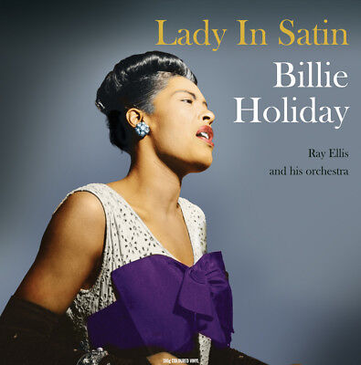 Billie Holiday LADY IN SATIN (NOTLP228) 180g NEW SEALED CLEAR VINYL RECORD LP