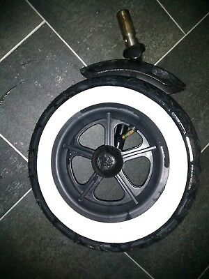 Phil & Teds Dot Front Wheel + Tyre & Tube etc Complete Unit Easy to Replace