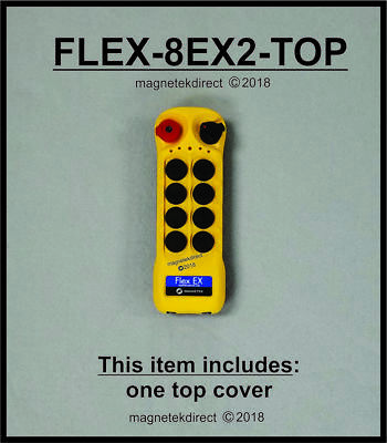Magnetek FLEX-8EX2-TOP cover - radio remote control transmitter replacement part