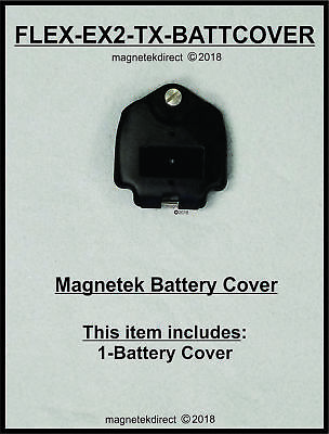 Magnetek FLEX-EX2-TX-BATTCOVER battery door cover, for radio control transmitter