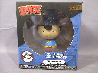 "Dorbz DC ""SUPERMAN"" 377 Specialty Series POP Figure Funko *NEW*"