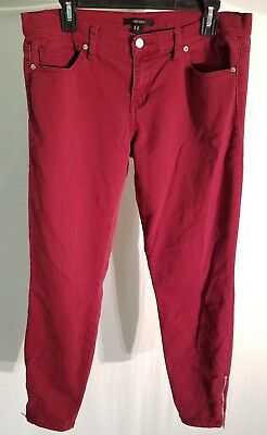 51b0ebb6 NEW FOREVER 21 Plaid High Waist Ankle Skinny Pants Size M - $11.00 ...