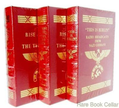 William L. Shirer RISE & FALL OF THE THIRD REICH AND THIS IS BERLIN Easton Press