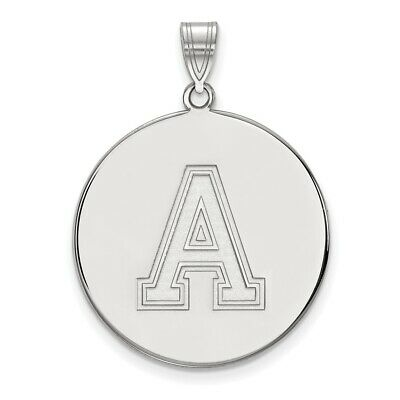 14k Yellow Gold USMA West Point Army Black Knights School Letter Logo Pendant