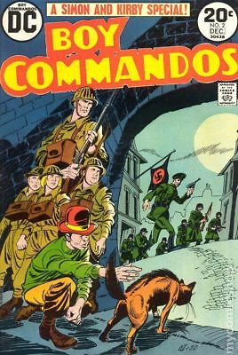 Boy Commandos (2nd Series) #2 1973 GD/VG 3.0 Stock Image Low Grade