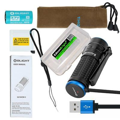 Olight  S1R II 1000 lumen magnetic rechargeable LED flashlight compact EDC S1RII