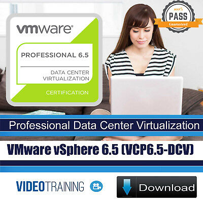 VMware vSphere 6.5 (VCP6.5-DCV) with 6.7 Updates Video Training Course DOWNLOAD