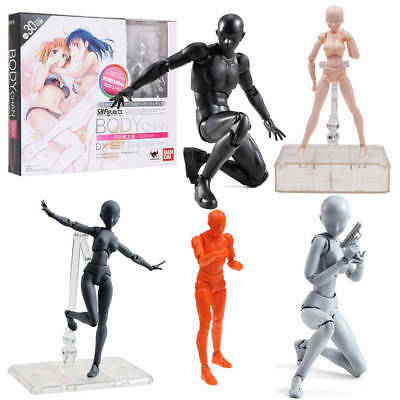 S.H.Figuarts He She Body Kun DX Set 4 Color Ver Body-Chan PVC Action Figures IT