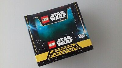 Lego Star Wars Trading Cards Serie 1 - 1x Display = 50 Booster