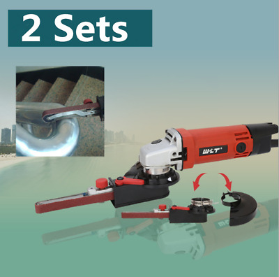 """800W Electric Angle Grinder 100mm 4""""Cutting Grinding Sanding Tool Belt Adapter"""