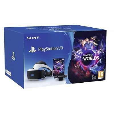 PlayStation 4 VR Starter Pack Bundle Headset Latest Version for Sony PS4 New