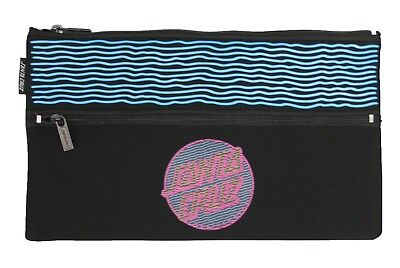 Santa Cruz SC Lines Pencil Case in Black