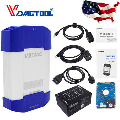 VXDIAG VCX Diagnostic Scanner Tool For BMW E/F/G series Icom A2 A3 With HDD