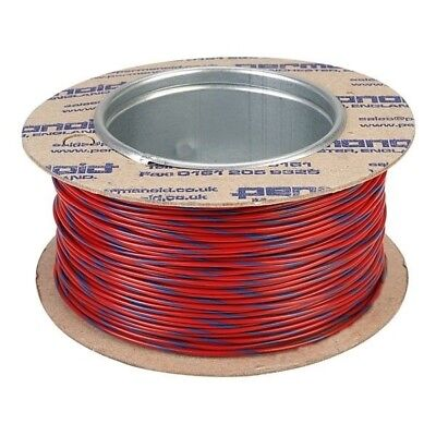 Rapid Equipment Wire 16/0.2mm Red/Blue 100m