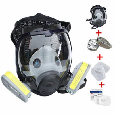 15 in 1 Similar as 3M 6800 Gas Mask Full Face Facepiece Respirator For Painting
