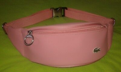 sacoche lacoste rose
