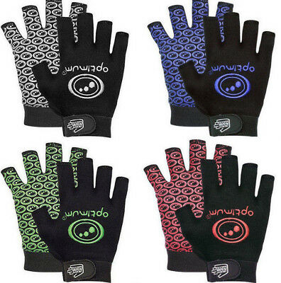 Optimum Rugby Stik Mitts Lightweight Fingerless Supergrip Rugby Gloves