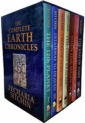 The Complete Earth Chronicles 7 Books Collection Set Pack Zecharia Sitchin