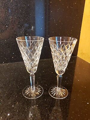 Waterford Irish Crystal Wine Glasses Signed Boyne/Alana Make an Offer
