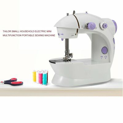 Multifunction Electric Mini Sewing Machine Household Desktop With LED New RK