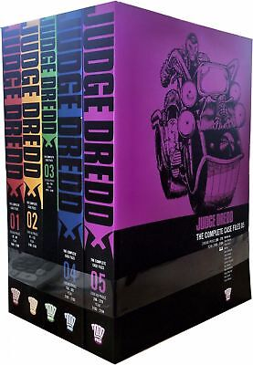 Judge Dredd: Complete Case Files Volume 1-5 Collection 5 Books Set (Series 1)