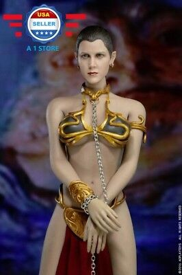 1/6 Princess Leia Organa Star Wars Slave Outfit For PHICEN Hot Toys【BACK-ORDER】
