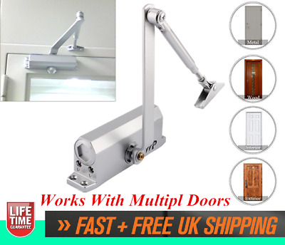 Heavy Duty 25~80KG Fire Rated Overhead Door Opener Closer Automatic & Soft Close