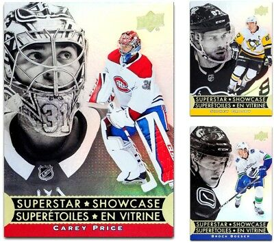 2018-19 Tim Hortons Superstar Showcase **** PICK YOUR CARD **** From The SET