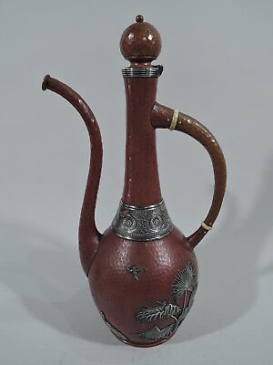 Gorham Coffeepot - E40 - Antique Turkish - American Mixed Metal Copper Silver