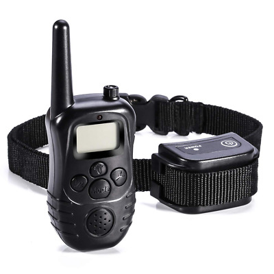 Rechargeable and Waterproof 300 Yards Remote Dog Bark Training Collar for Dogs