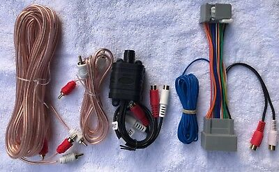 Honda Acura 08 Factory Radio Add A Subwoofer Amplifier Plug /& Play Wire Harness