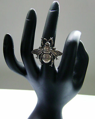Vintage Bee Ring By Ziggy Originals N.y.c. Adjustable