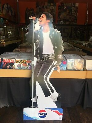 BRAND NEW LIMITED EDITION Michael Jackson Cardboard Cutout by Pepsi - Very Rare