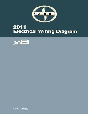 2011 scion xb wiring diagrams schematics layout factory oem