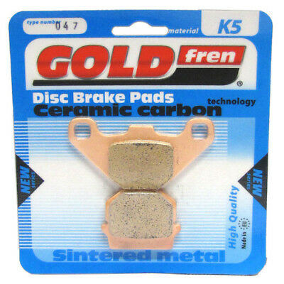 Front/Rear Disc Brake Pads for Adly Interceptor 150 2006 150cc By GOLDfren