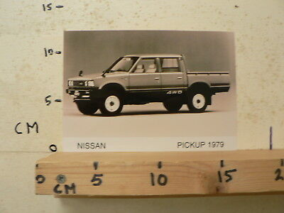 Af161-Photo Factory ? Nissan Pick-Up 1979