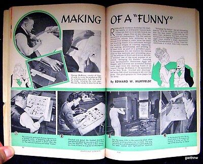 BRINGING UP FATHER 1940 COMIC PICTORIAL DRAWING BOARD TO PRINTING GEORGE McMANUS