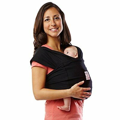 Solly Baby Wrap Baby Carrier The Wrap Black Carrier 45 00 Picclick